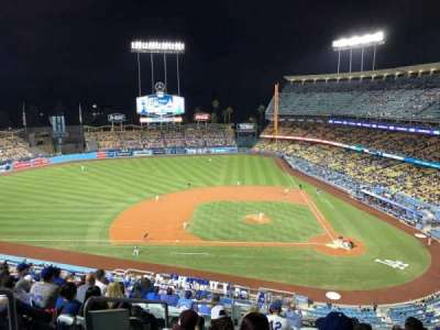 Dodger Stadium, section: 11RS, row: M, seat: 19