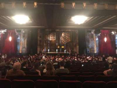 Pantages Theatre (Hollywood), section: Orchestra C, row: VV, seat: 111