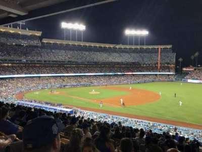 Dodger Stadium section 150LG