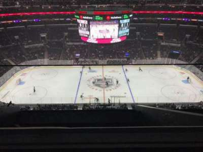 Staples Center, section: 318, row: 7, seat: 19