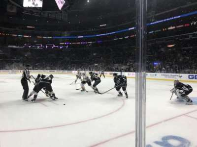 Staples Center, section: 108, row: 3, seat: 1