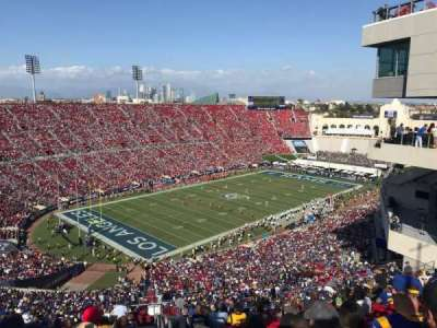 Los Angeles Memorial Coliseum section 311
