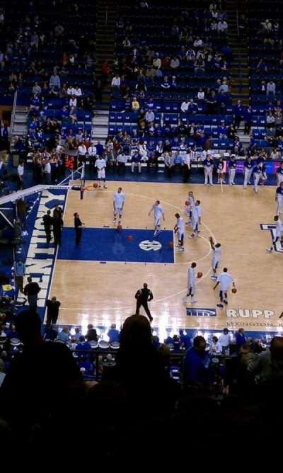 Rupp Arena, section: 215