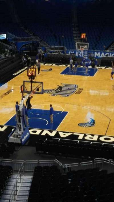 Amway Center section 109A