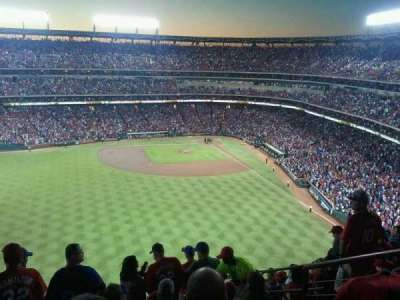 Globe Life Park in Arlington section 301