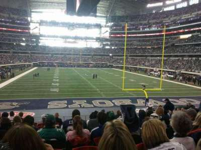 AT&T Stadium, section: 149, row: 20, seat: 11