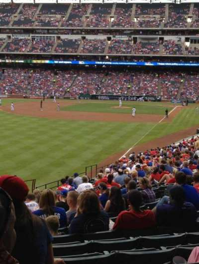 Globe Life Park in Arlington, section: 9, row: 18, seat: 15