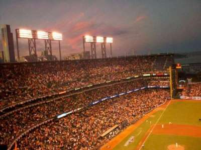 AT&T Park, section: 308, row: 18, seat: 14