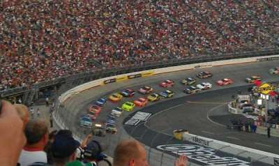 Bristol Motor Speedway, section: Allison F, row: 27, seat: 15