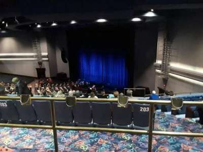 Rosemont Theatre, section: 203, row: H, seat: 15