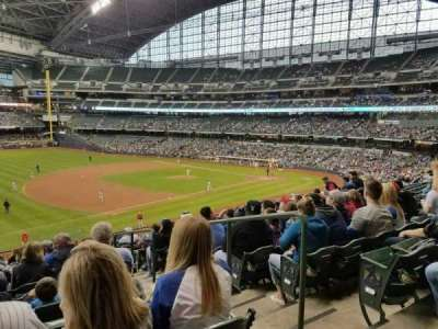 Miller Park, section: 228, row: 14, seat: 3
