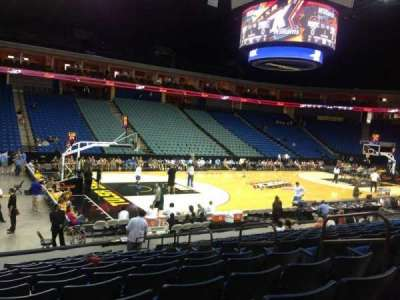 BOK Center, section: 119, row: N, seat: 7