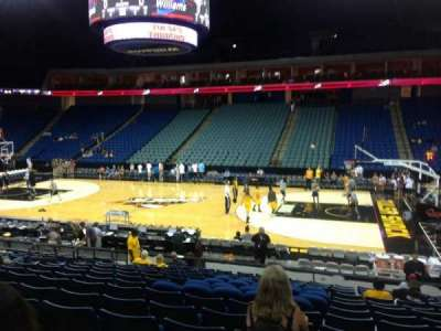 BOK Center, section: 122, row: Q, seat: 9