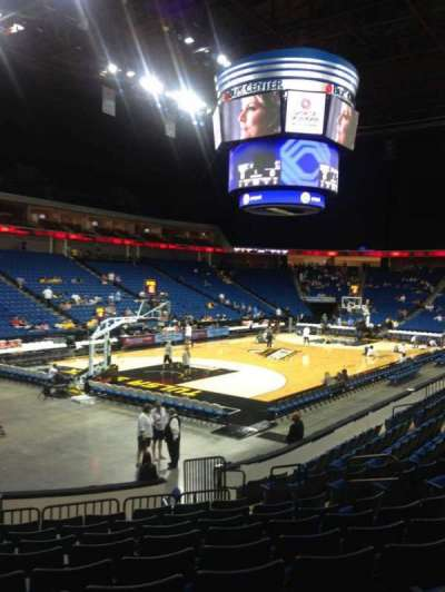 BOK Center, section: 107, row: N, seat: 11
