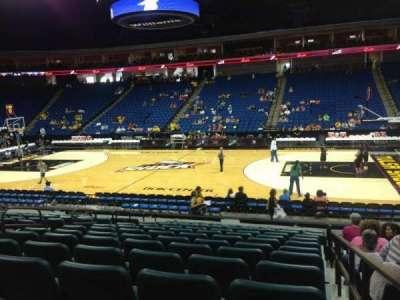 BOK Center, section: 110, row: O, seat: 12