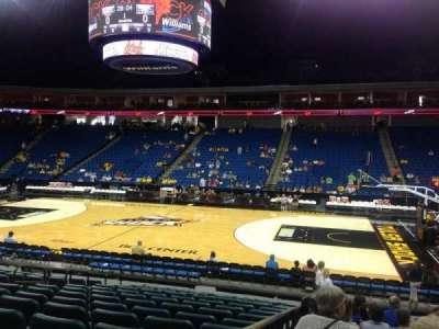 BOK Center, section: 111, row: O, seat: 11