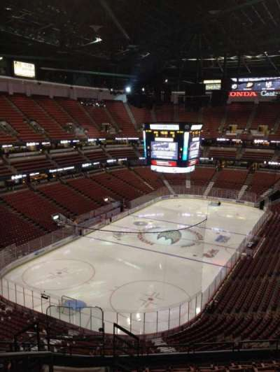Honda Center, section: 441, row: K, seat: 12