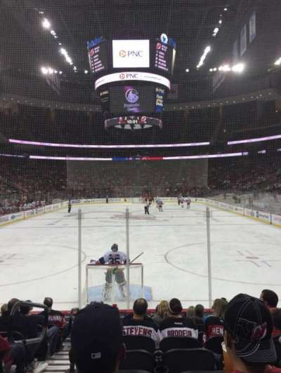 Prudential Center, section: 14, row: 9, seat: 12