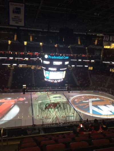 Prudential Center, section: 126, row: 7, seat: 20