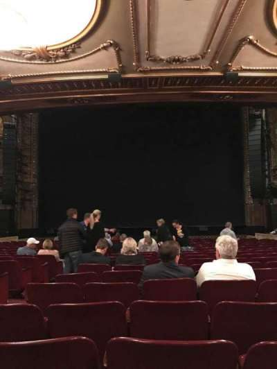 Palace Theatre (Broadway), section: Orch Center, row: T, seat: 106