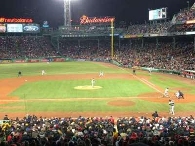 Fenway Park, section: Grandstand 25, row: 13, seat: 9