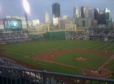 PNC Park, section: 219, row: B, seat: 7
