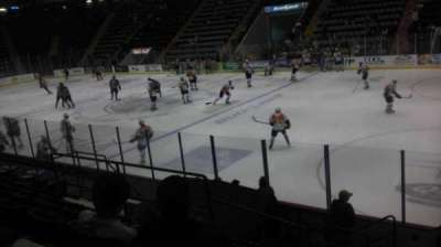 Glens Falls Civic Center, section: D, row: 9, seat: 12