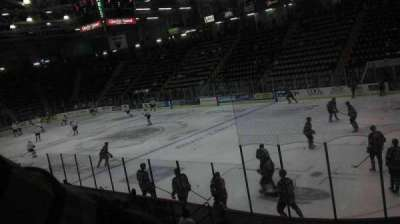 Glens Falls Civic Center, section: P, row: 10, seat: 1