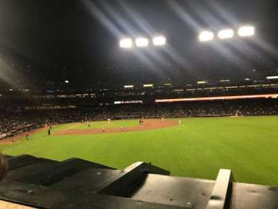 Oracle Park, section: 148, row: 1, seat: 3