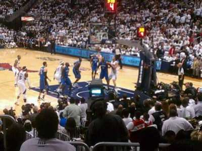 Philips Arena section 122