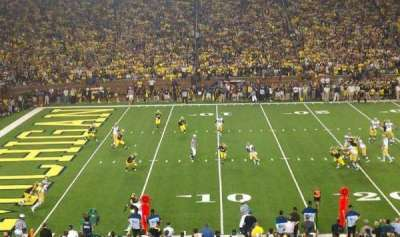 Michigan Stadium section 4