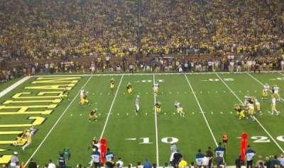 Michigan Stadium section 4