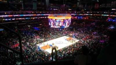Staples Center, section: 303, row: 9, seat: 16
