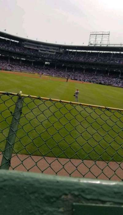 Wrigley Field section bleachers