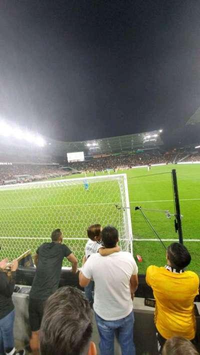 Banc of California Stadium, section: 122, row: C, seat: 4