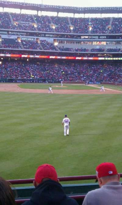 Globe Life Park in Arlington, section: 5, row: 5, seat: 3