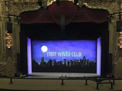 Oriental Theatre, section: LOGE-C, row: D, seat: 308