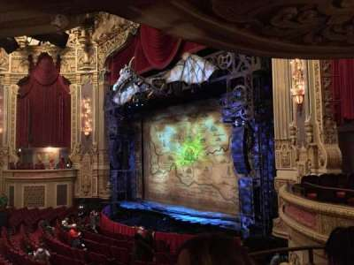 Oriental Theatre, section: DCIR-R, row: CC, seat: 8