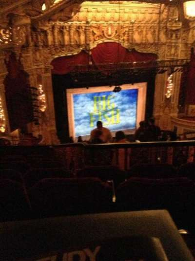Oriental Theatre, section: BALC-L, row: T, seat: 367