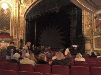 Cadillac Palace Theater, section: ORCH-R, row: P, seat: 30