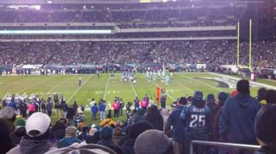 Lincoln Financial Field, section: 122, row: 21, seat: 3