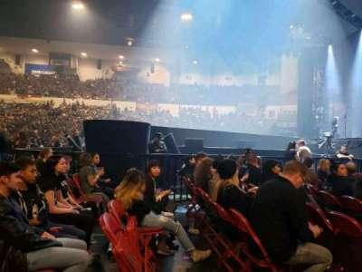 Pechanga Arena, section: LL11, row: 1, seat: 7,8