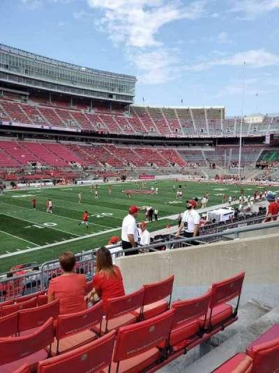 Ohio Stadium section 28A