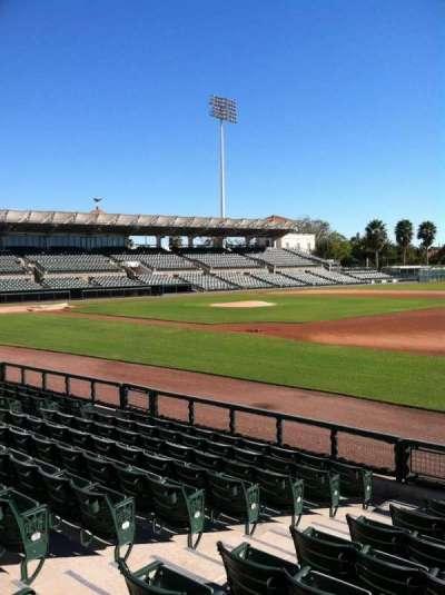 Ed Smith Stadium, section: 104, row: 8, seat: 7