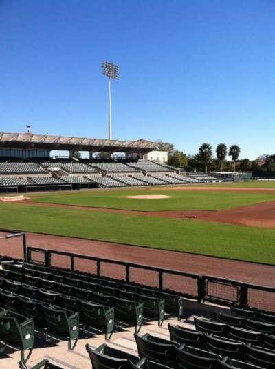 Ed Smith Stadium, section: 105, row: 7, seat: 7
