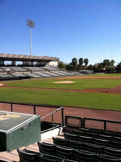 Ed Smith Stadium, section: 106, row: 8, seat: 7