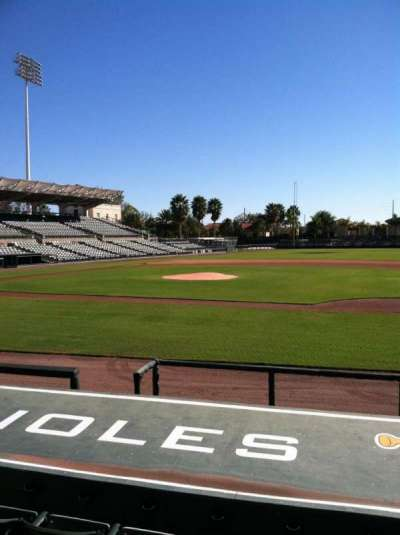 Ed Smith Stadium, section: 107, row: 8, seat: 6