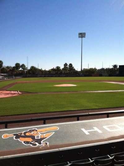 Ed Smith Stadium, section: 110, row: 8, seat: 6