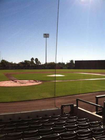 Ed Smith Stadium, section: 111, row: 9, seat: 7