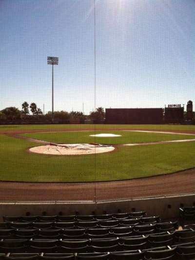 Ed Smith Stadium, section: 112, row: 9, seat: 5